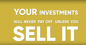 Investing in Real Estate For Beginners your real estate investment will never pay off, unless you sell it